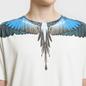 Мужская футболка Marcelo Burlon Turquoise Wings Beige/Multicolor фото - 2