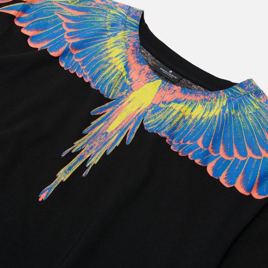Мужская футболка Marcelo Burlon Wings Basic Black/Multicolor