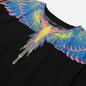 Мужская футболка Marcelo Burlon Wings Basic Black/Multicolor фото - 1