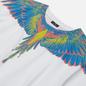 Мужская футболка Marcelo Burlon Wings Basic White/Multicolor фото - 1