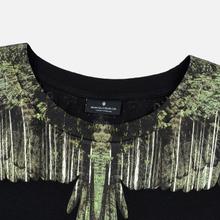 Мужская футболка Marcelo Burlon Wood Wings Black/Green фото- 1
