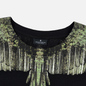 Мужская футболка Marcelo Burlon Wood Wings Black/Green фото - 1