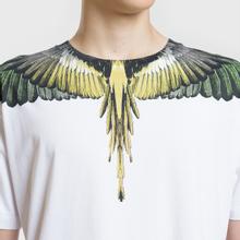 Мужская футболка Marcelo Burlon Yellow Wings White/Multicolor фото- 2
