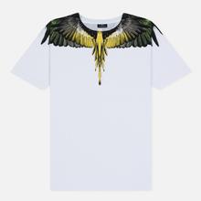 Мужская футболка Marcelo Burlon Yellow Wings White/Multicolor фото- 0