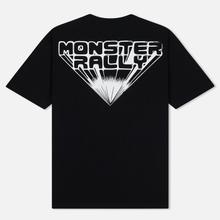 Мужская футболка McQ Alexander McQueen Monster Rally Dropped Shoulder Darkest Black фото- 1