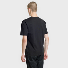 Мужская футболка McQ Alexander McQueen Screenprint Monster Dropped Shoulder Darkest Black фото- 1
