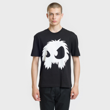 Мужская футболка McQ Alexander McQueen Screenprint Monster Dropped Shoulder Darkest Black фото- 2