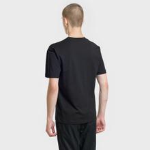 Мужская футболка McQ Alexander McQueen Seasonal Dropped Shoulder Darkest Black фото- 2