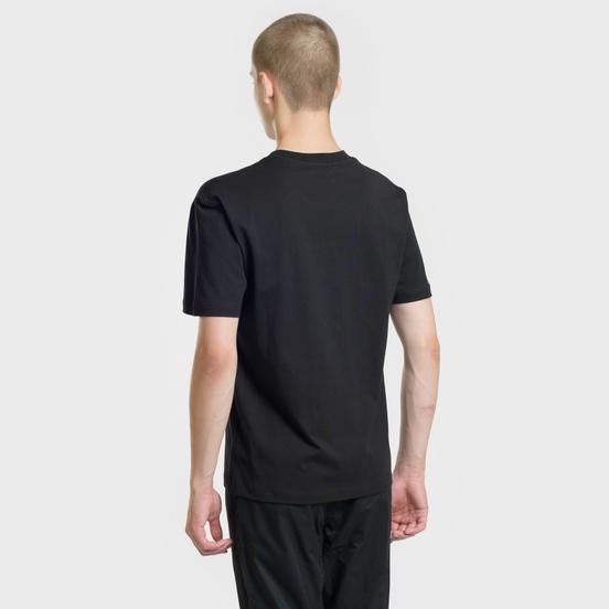 Мужская футболка McQ Alexander McQueen Seasonal Dropped Shoulder Darkest Black