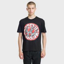 Мужская футболка McQ Alexander McQueen Seasonal Dropped Shoulder Darkest Black фото- 1