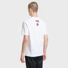 Мужская футболка McQ Alexander McQueen Sponsorship Dropped Shoulder Optic White фото- 2