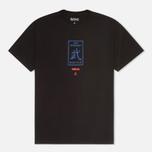 Мужская футболка maharishi Club Print Black фото- 0