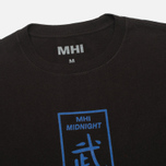 Мужская футболка MHI By Maharishi Club Print Black фото- 1