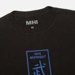 Мужская футболка maharishi Club Print Black фото- 1