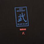 Мужская футболка maharishi Club Print Black фото- 2