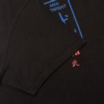Мужская футболка maharishi Club Print Black фото- 3