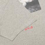 Мужская футболка maharishi Master Snake Grey Marl фото- 3