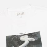 Мужская футболка MHI By Maharishi Master Snake White фото- 1