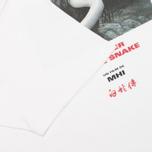 Мужская футболка MHI By Maharishi Master Snake White фото- 3