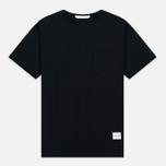 Мужская футболка MKI Miyuki-Zoku 8 Oz Super Heavyweight Pocket Black фото- 0