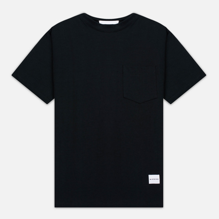 MKI Miyuki-Zoku 8 Oz Super Heavyweight Pocket Men's T-Shirt Black