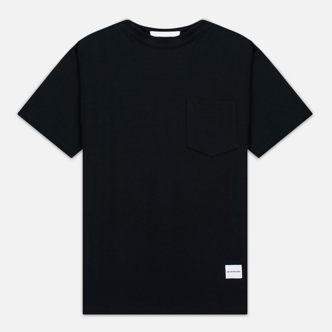 Мужская футболка MKI Miyuki-Zoku 8 Oz Super Heavyweight Pocket Black