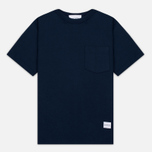 Мужская футболка MKI Miyuki-Zoku 8 Oz Super Heavyweight Pocket Navy фото- 0