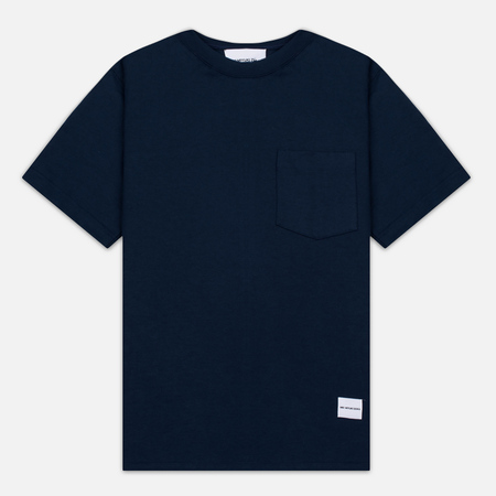 MKI Miyuki-Zoku 8 Oz Super Heavyweight Pocket Men's T-Shirt Navy