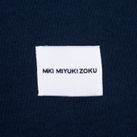 Мужская футболка MKI Miyuki-Zoku 8 Oz Super Heavyweight Pocket Navy фото- 4