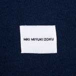 MKI Miyuki-Zoku 8 Oz Super Heavyweight Pocket Men's T-Shirt Navy photo- 4