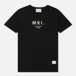 Мужская футболка MKI Miyuki-Zoku Classic Logo Black фото- 0