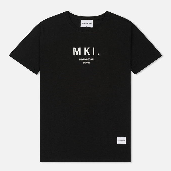 Мужская футболка MKI Miyuki-Zoku Classic Logo Black