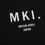 Мужская футболка MKI Miyuki-Zoku Classic Logo Black фото- 2