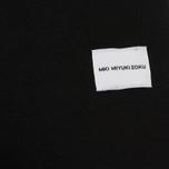 Мужская футболка MKI Miyuki-Zoku Classic Logo Black фото- 3