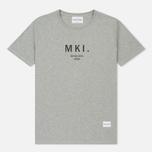 Мужская футболка MKI Miyuki-Zoku Classic Logo Grey фото- 0
