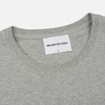 Мужская футболка MKI Miyuki-Zoku Classic Logo Grey фото- 1