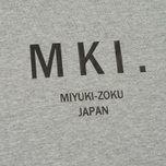 Мужская футболка MKI Miyuki-Zoku Classic Logo Grey фото- 2