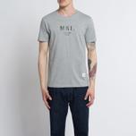 Мужская футболка MKI Miyuki-Zoku Classic Logo Grey фото- 4
