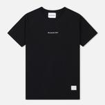 Мужская футболка MKI Miyuki-Zoku Embroidered Logo Black фото- 0