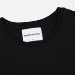 Мужская футболка MKI Miyuki-Zoku Embroidered Logo Black фото- 1