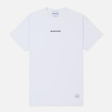 Мужская футболка MKI Miyuki-Zoku Embroidered Logo White фото- 0