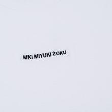 Мужская футболка MKI Miyuki-Zoku Embroidered Logo White фото- 2