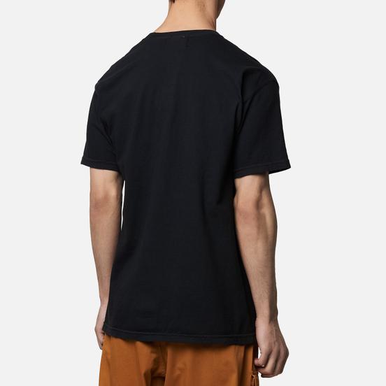 Мужская футболка MKI Miyuki-Zoku Garment Dyed Pocket Black