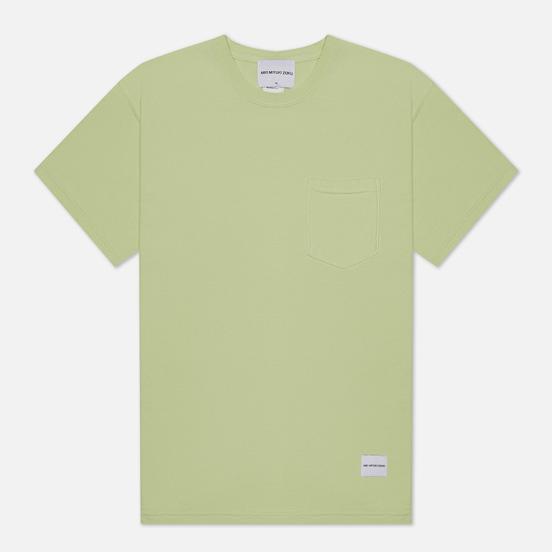Мужская футболка MKI Miyuki-Zoku Garment Dyed Pocket Pistachio