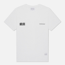 Мужская футболка MKI Miyuki-Zoku Ginza White фото- 0