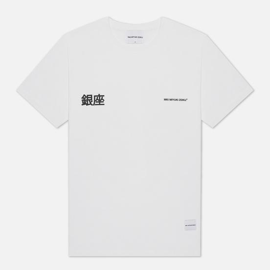 Мужская футболка MKI Miyuki-Zoku Ginza White