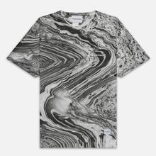 Мужская футболка MKI Miyuki-Zoku Marble Black/White фото- 0