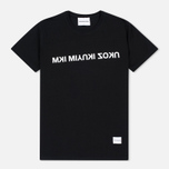 MKI Miyuki-Zoku Mix Logo Men's T-Shirt Black photo- 0