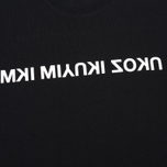 MKI Miyuki-Zoku Mix Logo Men's T-Shirt Black photo- 2