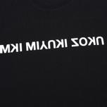 Мужская футболка MKI Miyuki-Zoku Mix Logo Black фото- 2